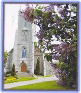Church & Lilacs